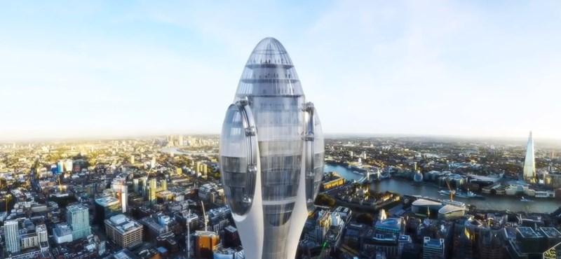 Engedélyezték London új, 305 méteres felhőkarcolóját