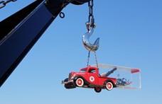 A nap fotói: a vontatóautót vontató vontatót vontató vontató