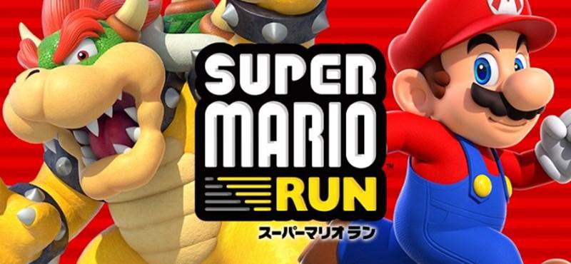 Végre játszhat vele: Androidra is megjelent a Super Mario Run