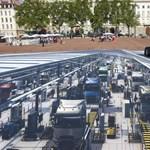 Világrekord 3D-s utcai rajzokkal reklámoz a Renault