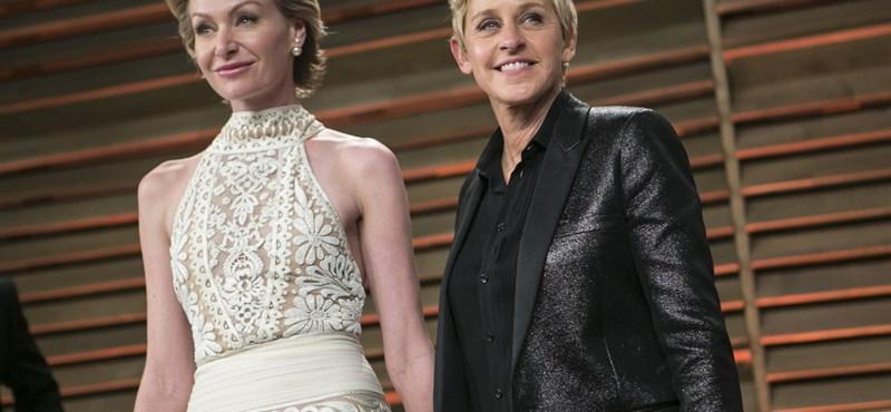 Életműdíjjal jutalmazzák Ellen DeGenerest