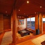 Egy ultramodern faház Chilében - a tűz sem fogja