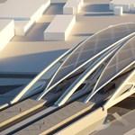 Futurisztikus találkahely épül a vonatoknak és a HÉV-eknek