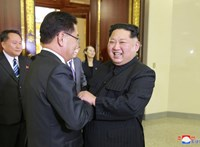 Megérkezhetett Kínába Kim Dzsong Un a páncélvonatában