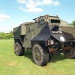 Brit páncélos járműveket kapott Ukrajna