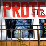 Több ezer lengyel pedagógus tüntet, már tíz napja sztrájkolnak