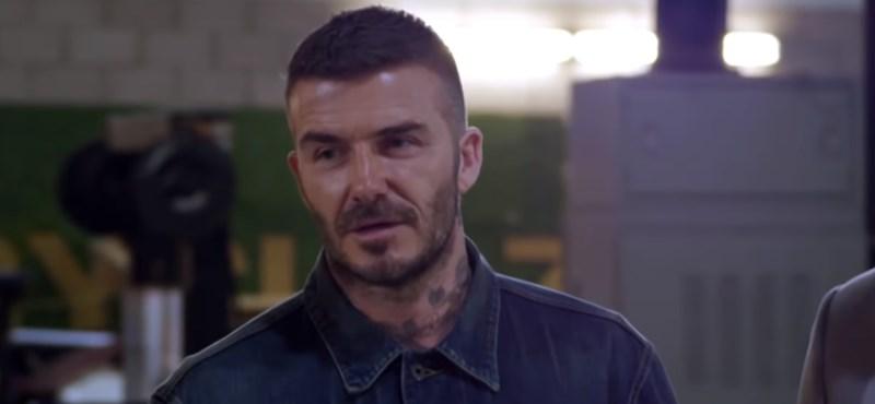 James Corden miatt David Beckhamen röhög a világ