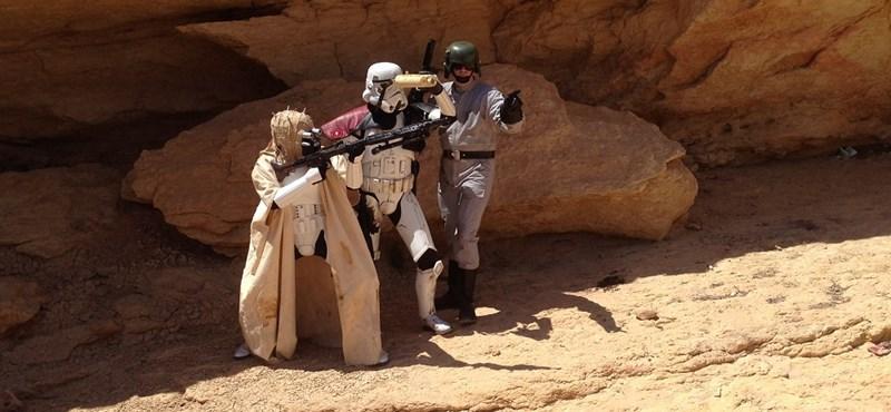 """""""Ismerd meg az Erőt, Luke!"""" – hátizsákkal Skywalker nyomában"""