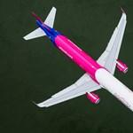 16 látványos fotót posztolt a Wizz Air a vasárnapi, Duna fölötti nagy mutatványról
