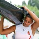 Kislánya született az olimpiai bajnok kajakozónknak