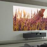 Az igen: az LG új projektora centikről vetít 4K-s képet a szoba falára
