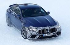 Szétfeszíti a zöld rendszám értelmét a Mercedes 800 lóerős hibrid újdonsága