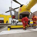 Helikopterrel vittek kórházba egy magyar túrázót a Magas-Tátrában