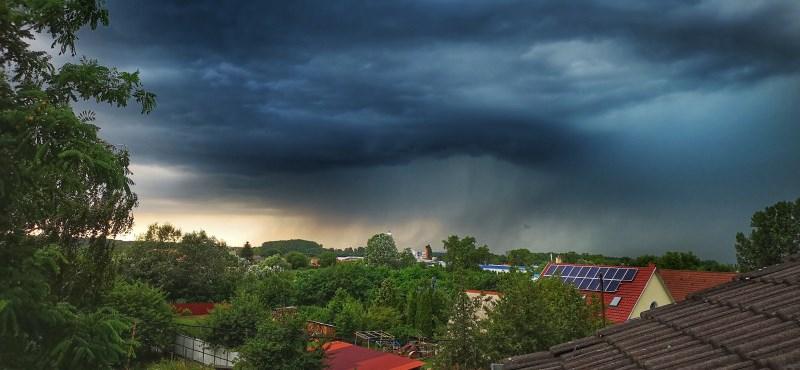 Érkezik a vihar, riasztást adtak ki