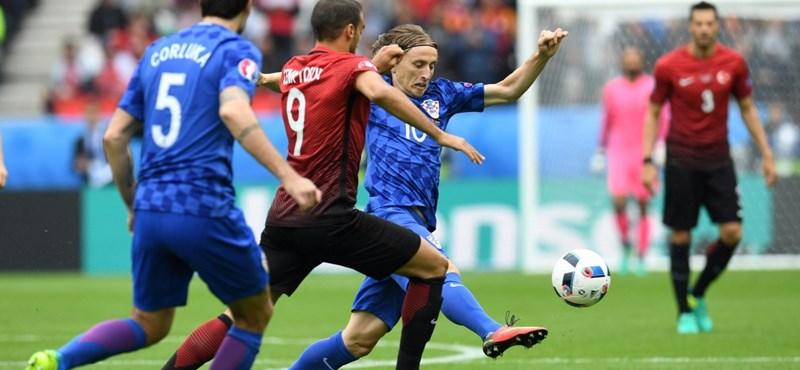 Horvátország - Spanyolország: 2-1