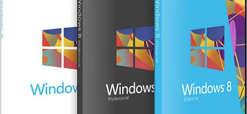 Megjelent a Windows 8