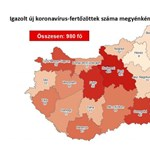 A koronavírus-fertőzöttek közel fele budapesti