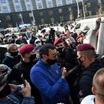Kiskereskedők tüntettek Ukrajnában, hogy kinyithassanak végre