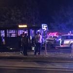 Busz és autó ütközött frontálisan a XIII. kerületben