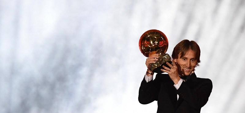 Megvan az új aranylabdás, Luka Modric az