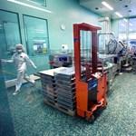 Gyógyszeripari raktárcsarnokot adtak át Kunfehértón