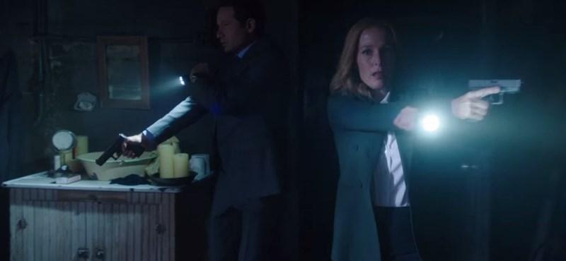 Videó: Visszatér Scully és Mulder az új X-akták első előzetesében