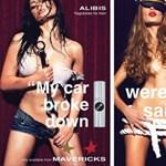 Alibi-parfümök férfiaknak: autólerobbanós, túlórázós