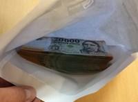 Kétmillió forintot adott át a rendőrségnek a becsületes megtaláló