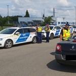 Kivonultak a rendőrök az utakra, 131 autós bánta