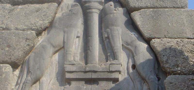 Hatalmas ókori fellegvárat tártak fel Görögországban