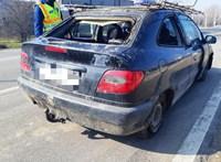 Autóroncsot fogtak a forgalomban a szolnoki rendőrök