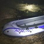Két tizenhárom évest mentettek ki gumicsónakból a vízi rendőrök