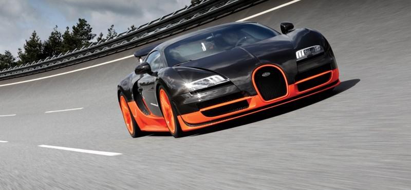 Döntött a Bugatti: nem lesz még erősebb Veyron