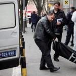 Felrobbantotta magát egy férfi Belgrád belvárosában – fotók