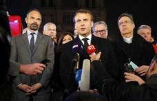 Macron nagyon fontos jó hírt akart bejelenteni, amikor kigyulladt a Notre-Dame