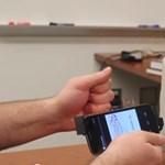 Itt a filléres gesztusérzékelő: végre minden telefonba bekerülhet