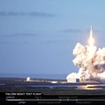 35 perc történelem: itt végignézheti a SpaceX Falcon Heavy rakéta fellövését
