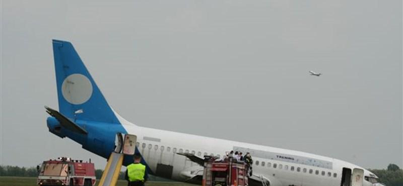 Elájult utas miatt landolt egy repülőgép Ferihegyen