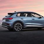 Magyarországon az Audi legolcsóbb villanyautója, az új Q4 e-tron