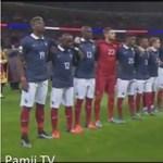 Tízezrek énekelték a francia himnuszt a Wembley-ben - videó