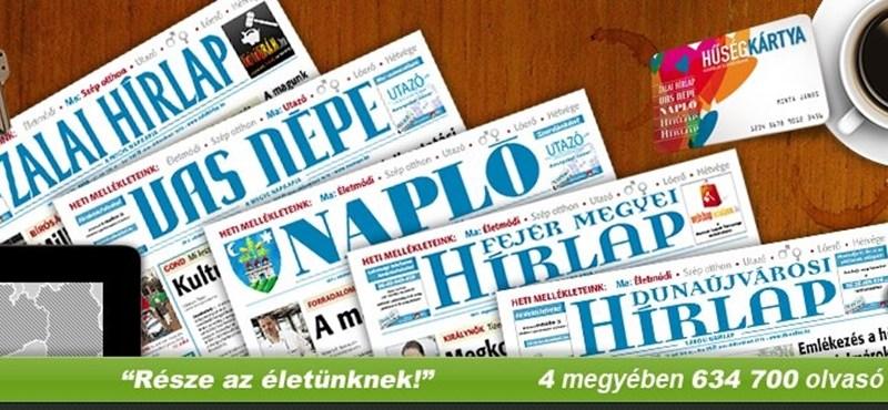 Kirúgták Mészáros Lőrinc vidéki lapjainak vezetőit
