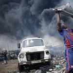 Az év fotója egy ghánai szeméttelepről