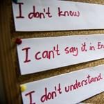 A diákok szerint az iskolában nem nagyon lehet megtanulni angolul