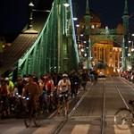 Kerékpárosok árasztják el vasárnap délután Budapestet