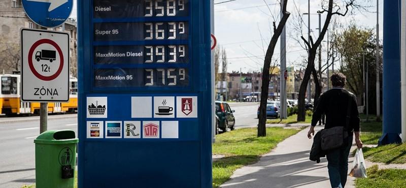 435 forintra drágult a gázolaj