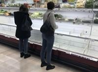 Tényleg felesleges pánikolva a boltokba rohannia