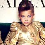 Óvodás fenékrisza, kisiskolás bébidollban - túl fiatal lányok a címlapon