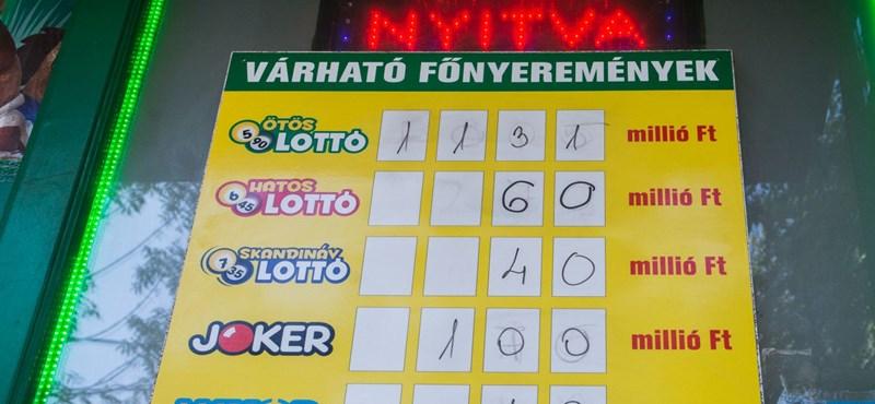 Nem volt ötös a lottón