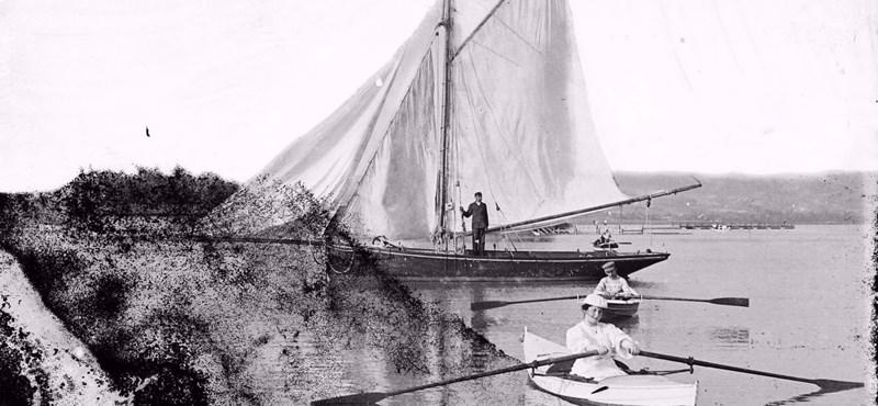 Így nézett ki a Balaton szocreál üdülők és jachtok nélkül – fotók a 19. századból