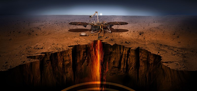 """""""Kísérteties mély zúgás"""" - fúj a szél a Marson"""